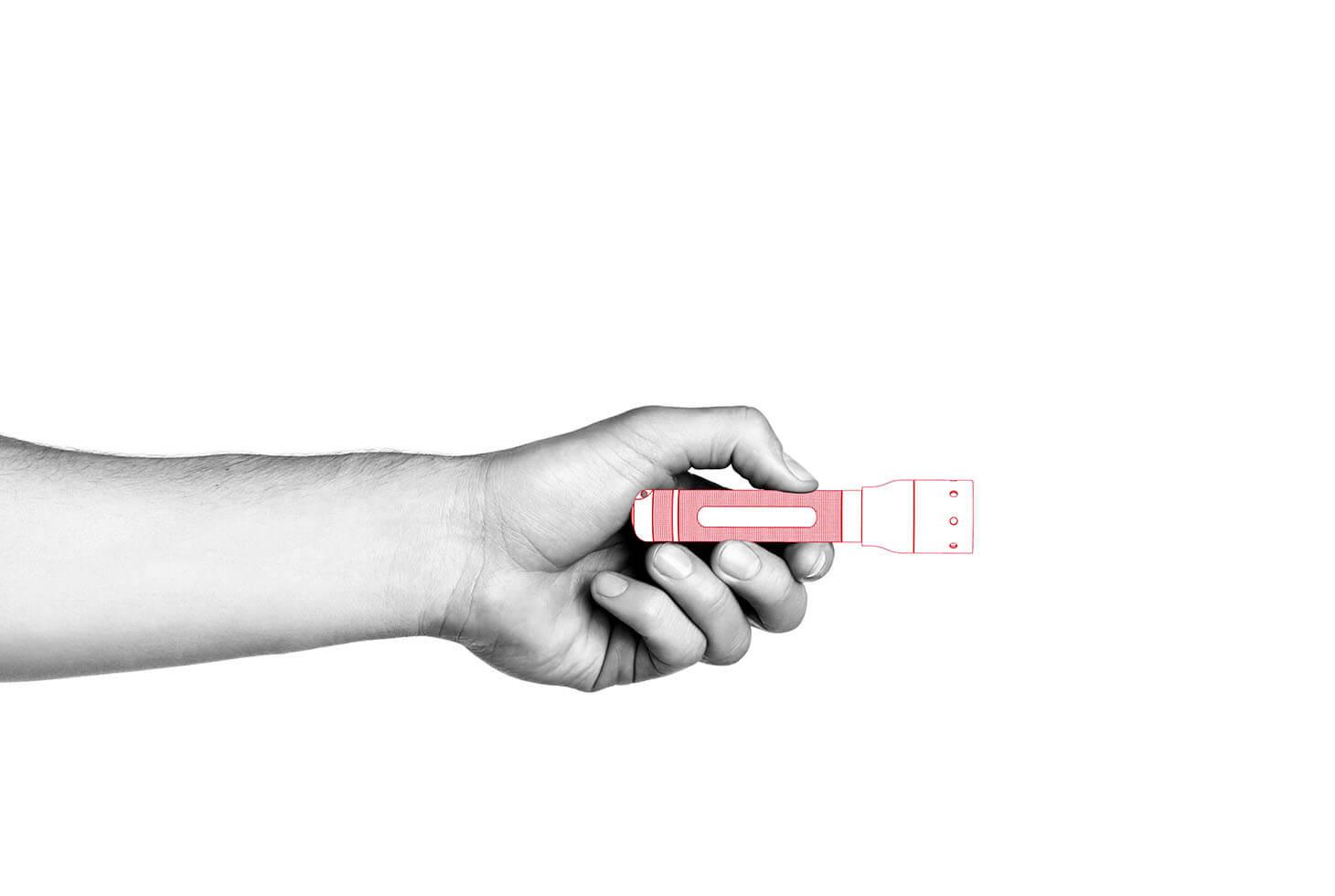 Đèn Pin Cầm Tay LEDLENSER P5R (Mới)