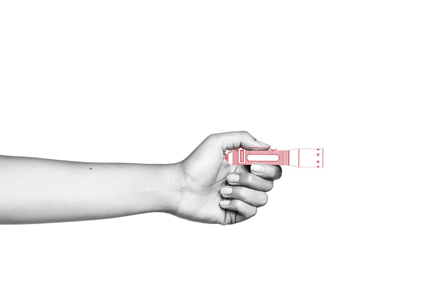 Đèn Pin Cầm Tay LEDLENSER P3R (Mới)