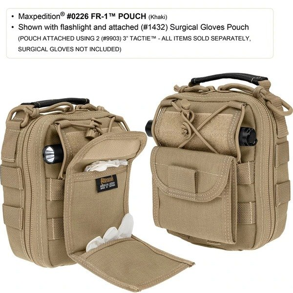 FR-1 MEDICAL POUCH – Green