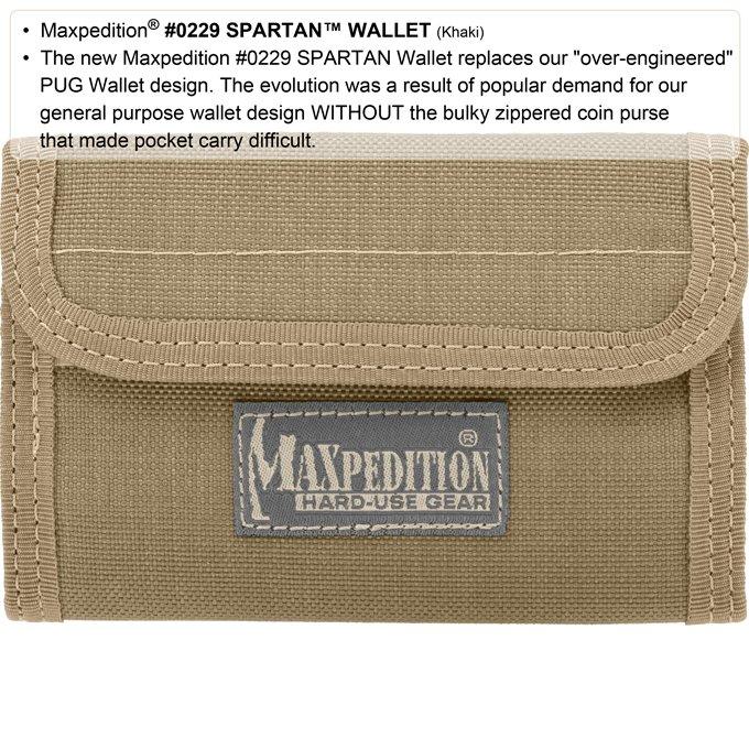Ví Maxpedition Spartan – Black