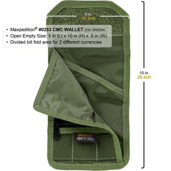 Ví Maxpedition CMC WALLET – Khaki