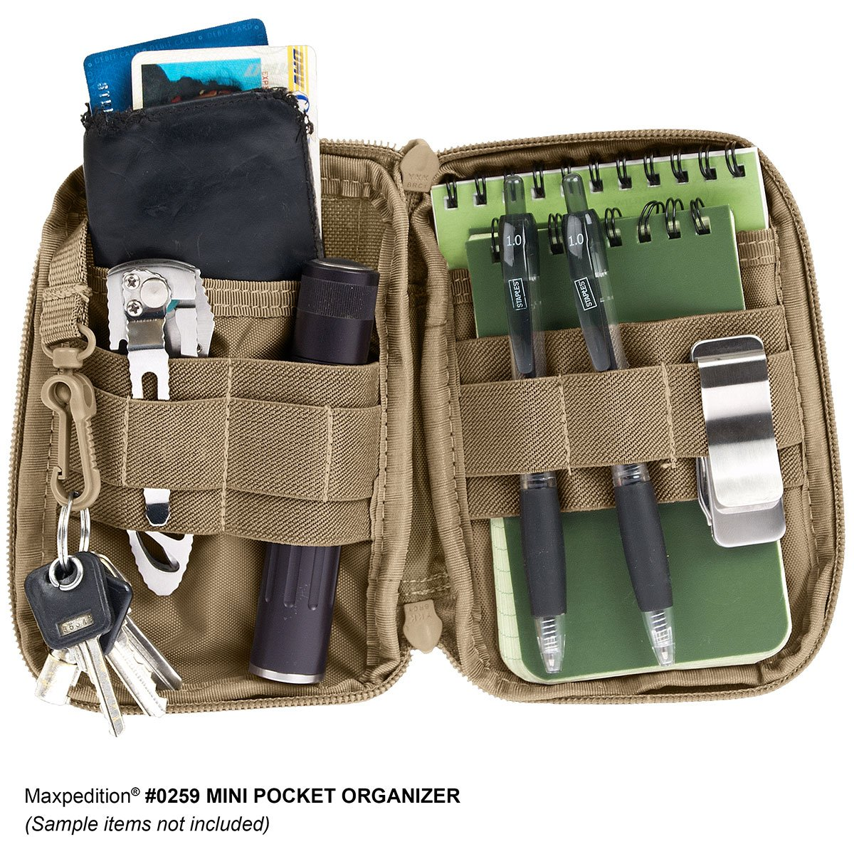 Pouch Maxpedition Mini Pocket Organizer  – Foliage Green