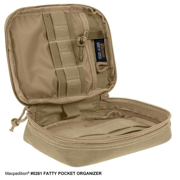 Maxpedition FATTY POCKET ORGANIZER – Khaki