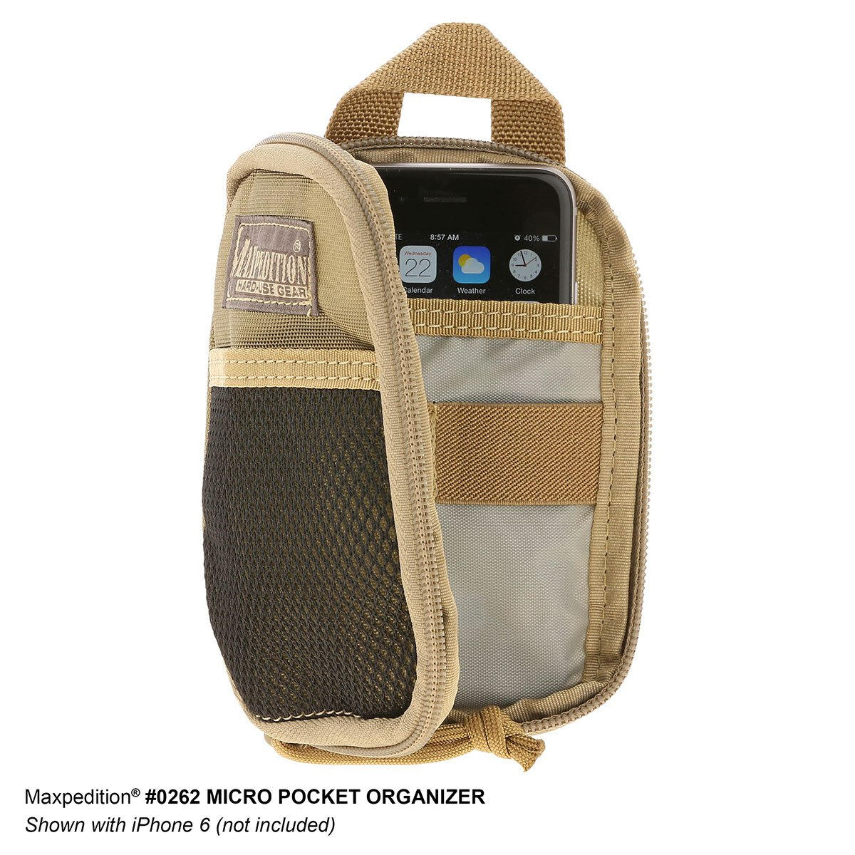 Pouch Maxpedition Micro Pocket Organizer – Black