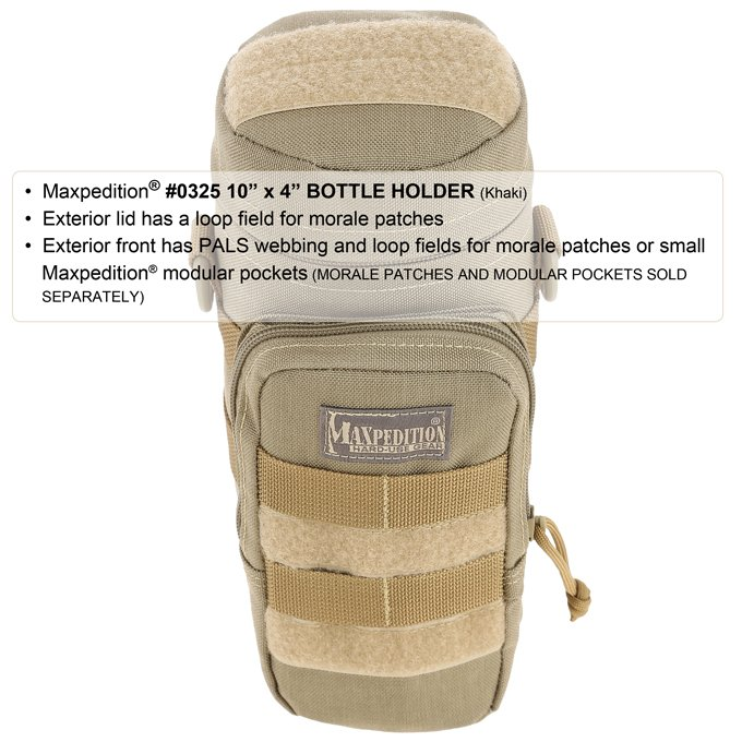 10″ x 4″ Bottle Holder – Foliage Green