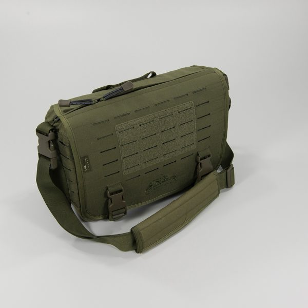 TÚI  SMALL MESSENGER BAG – Olive Green