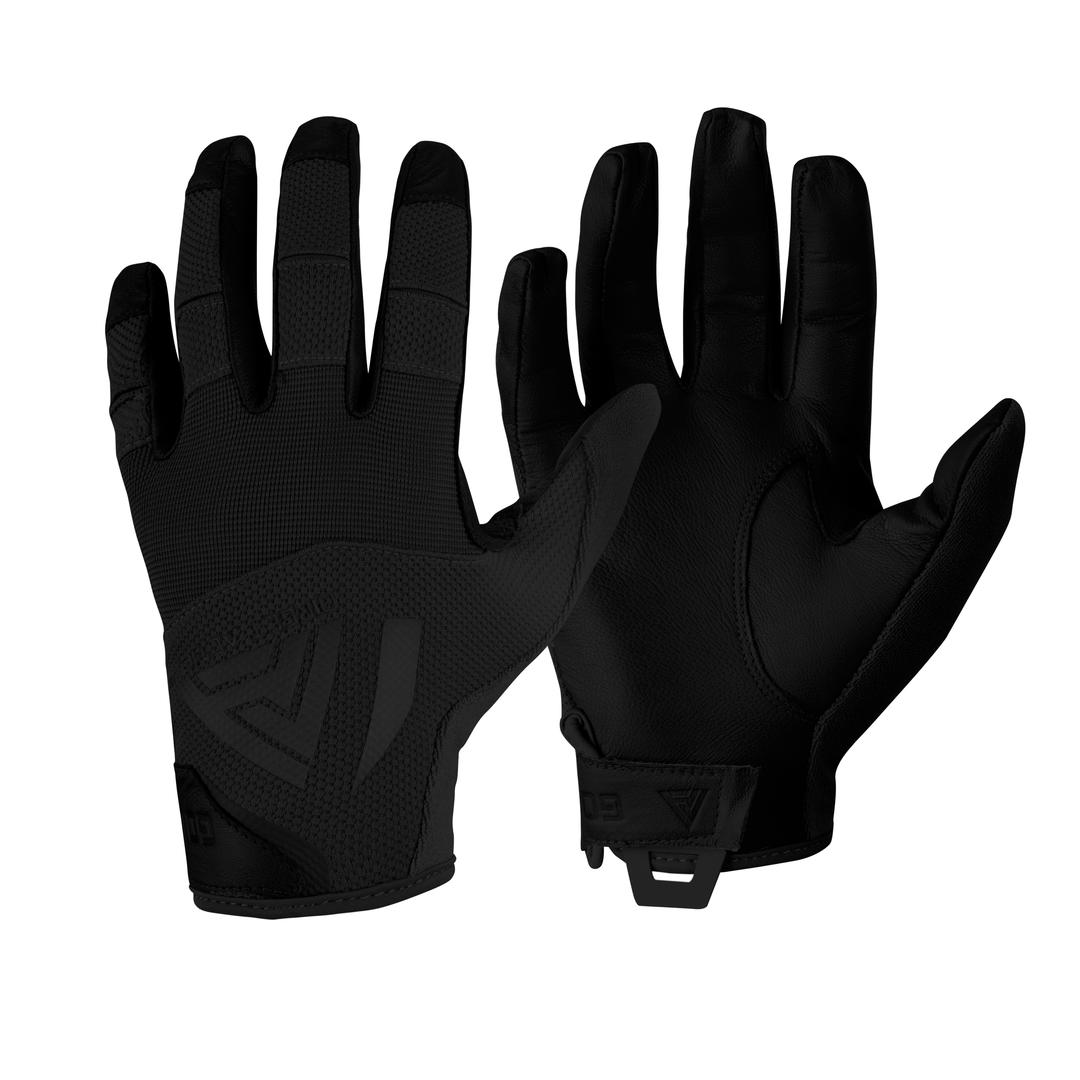 Găng tay HARD GLOVES® - LEATHER - Black