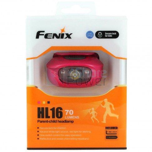 Đèn Pin FENIX – HL16 – 70 LUMENS (MÀU HỒNG TÍM PURPLE)