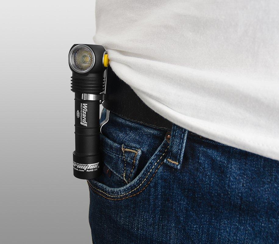 Đèn Pin ARMYTEK WIZARD PRO MAGNET USB (WHITE LIGHT-2300LM)