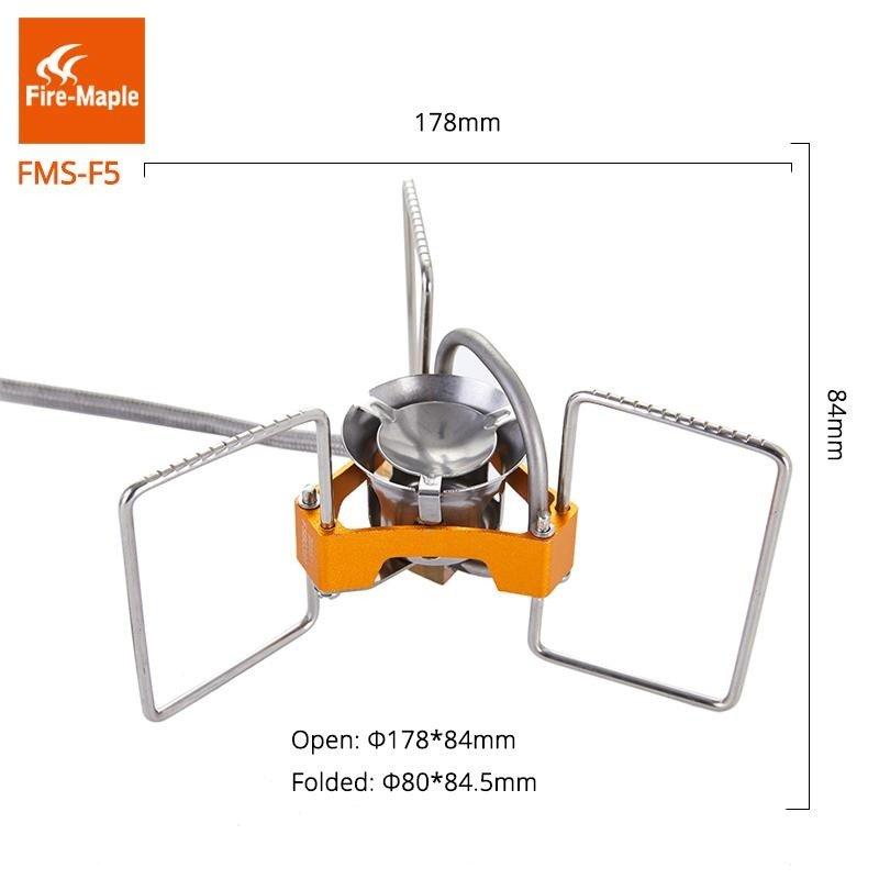 Bếp Du Lịch  đa nhiên liệu Fire Maple TURBO FMS-F5 REMOTE FUEL