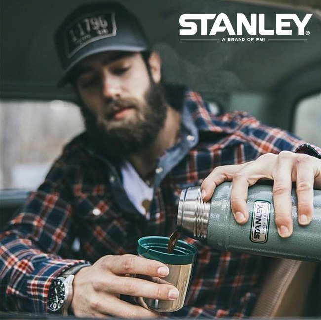 Bình Giữ Nhiệt Stanley Classic Legendary 600ml – Black