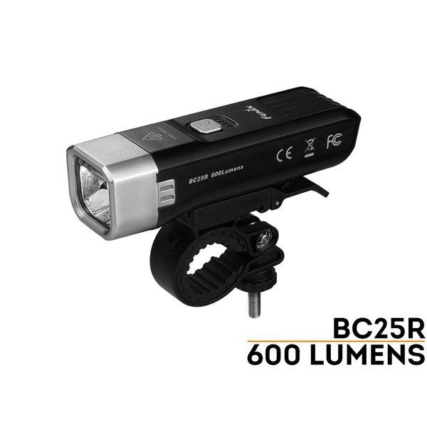 ĐÈN PIN XE ĐẠP FENIX - BC25R - USB - 600 LUMENS