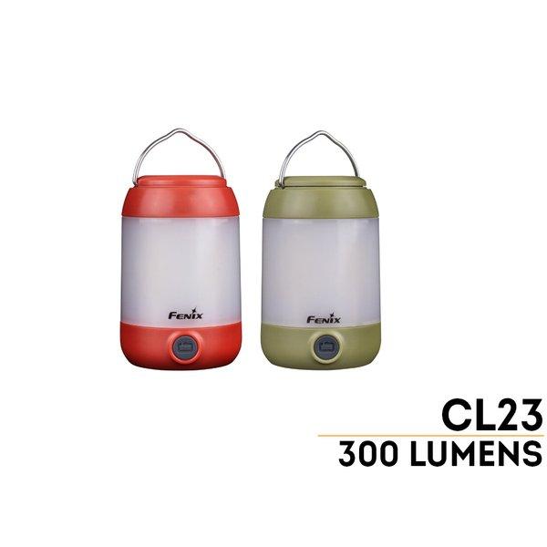 Đèn Pin FENIX – CL23 GREEN – 300 LUMENS (MÀU XANH)