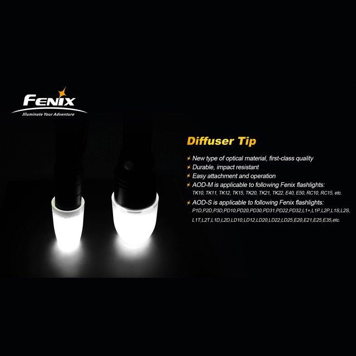 Phụ kiện Fenix - AOD-M - Tản sáng