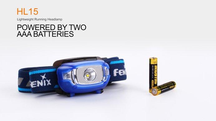 Đèn Pin ĐỘI ĐẦU FENIX – HL15 (3 MÀU: ĐEN, HỒNG, XANH BLUE – 200 LUMENS)
