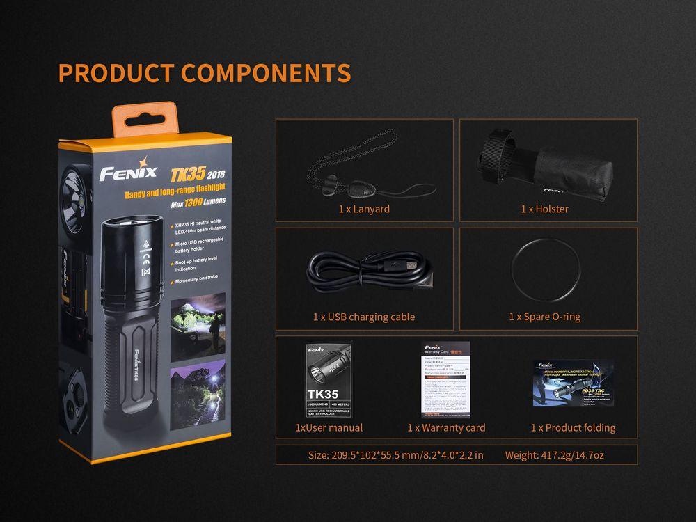 Đèn pin FENIX TK35
