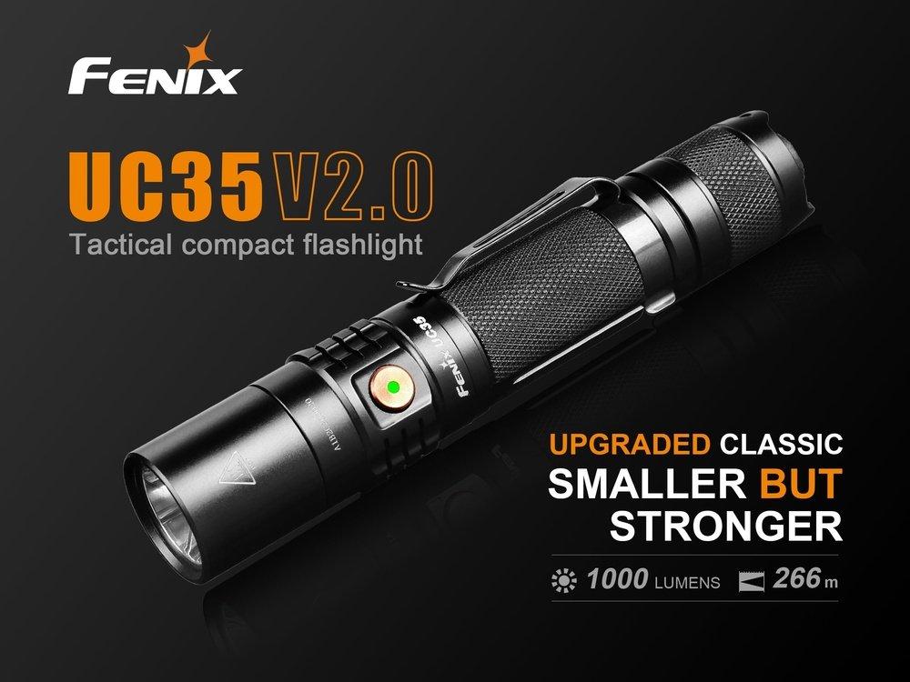 Đèn Pin FENIX UC35 V2.0 – 1000 LUMENS