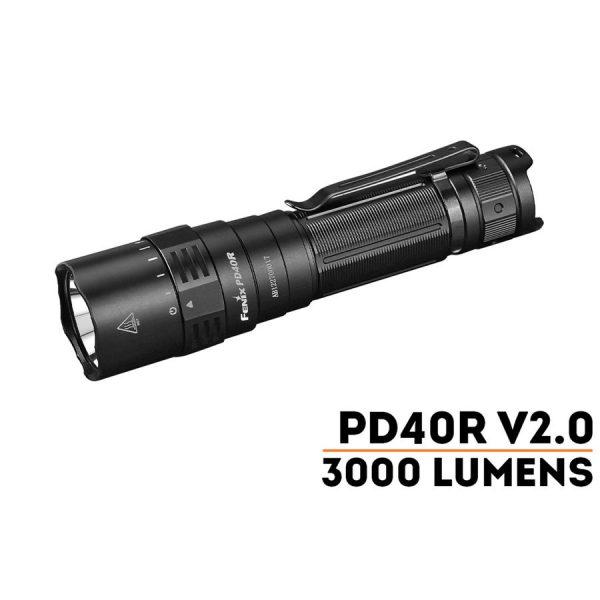 Đèn Pin FENIX – PD40R V2.0 – 3000LUMENS