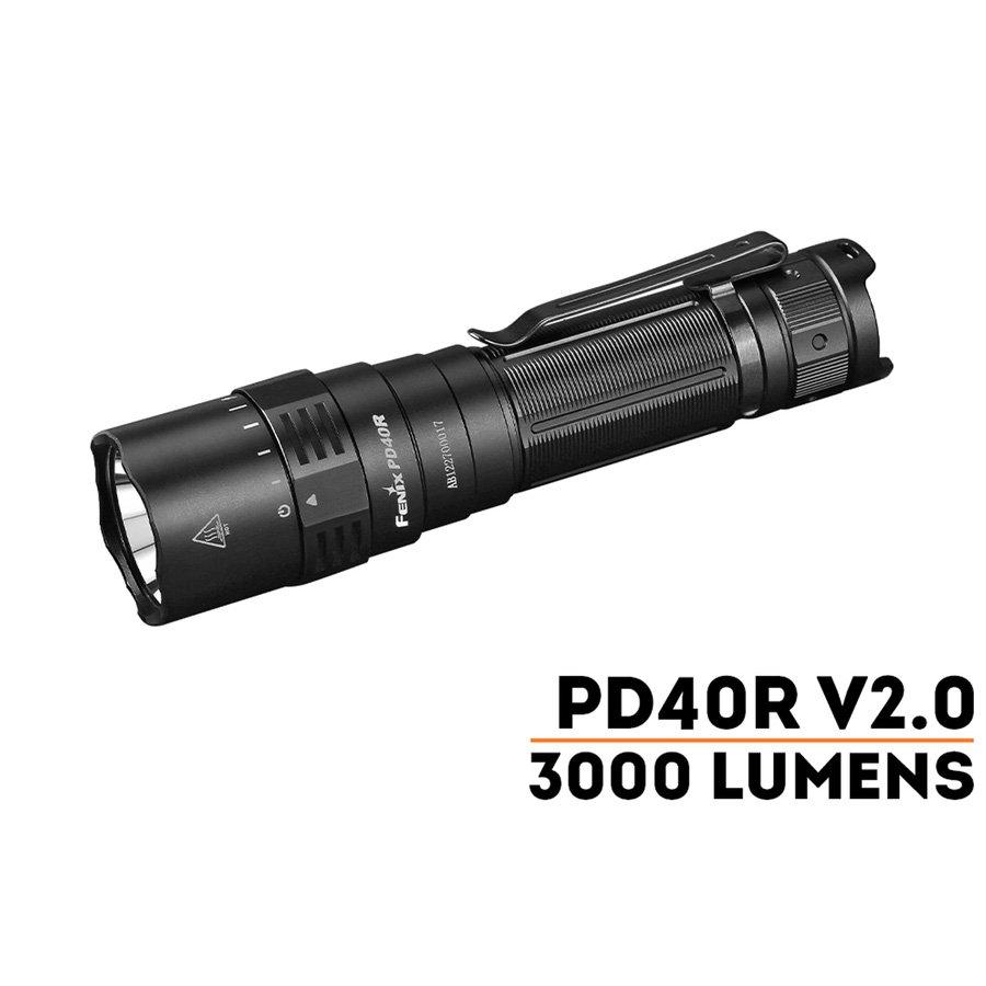 Đèn Pin FENIX - PD40R V2.0 - 3000LUMENS
