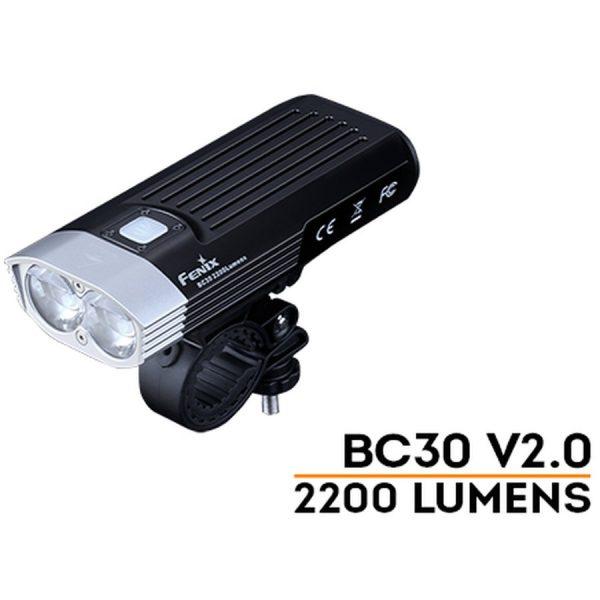 Đèn Pin Xe Đạp  FENIX BC30 V2.0