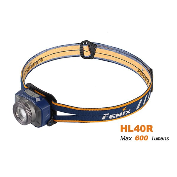 Đèn Pin ĐỘI ĐẦU FENIX HL40R – 600 LUMENS (ÁNH SÁNG TRẮNG)