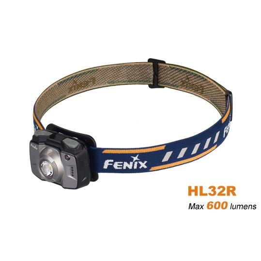 Đèn Pin ĐỘI ĐẦU FENIX – HL32R – 600 LUMENS (ÁNH SÁNG VÀNG)