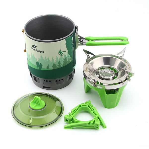 FIRE MAPLE – COOKING SET FIRE MAPLE STAR X3 GREEN