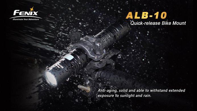 Phụ kiện Fenix ALB-10 – Gá đèn pin cho xe đạp