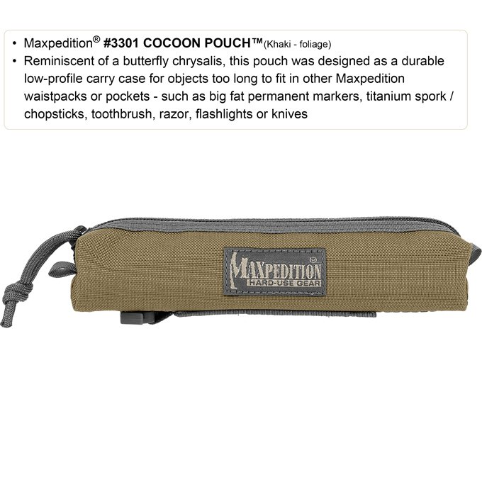 Pouch Maxpedition Cocoon – Khaki