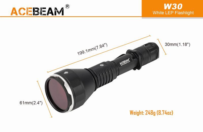 Đèn Pin Siêu Sáng ACEBEAM W30