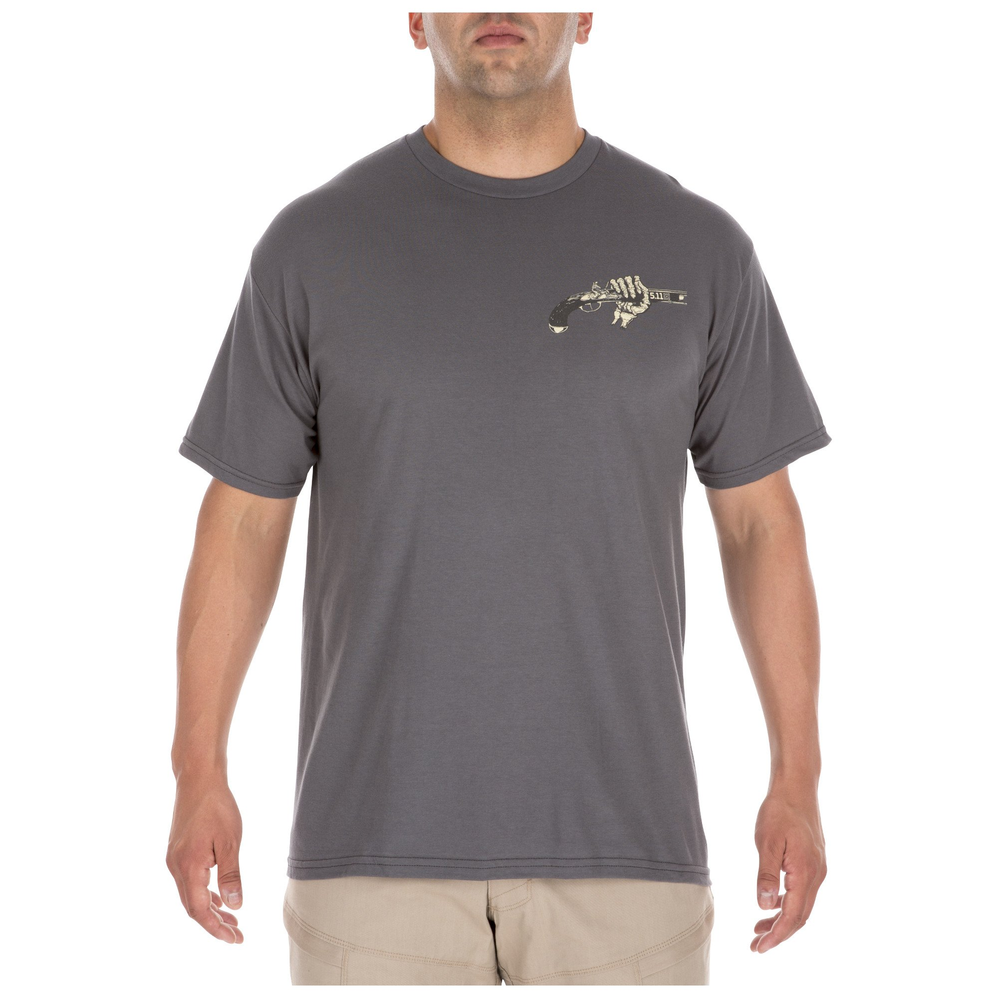 COLD HANDS TEE – CHARCOAL