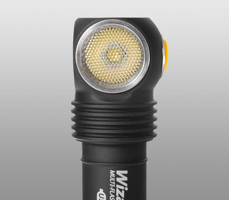 Đèn Pin Đội Đầu Ánh Sáng Vàng Armytek Wizard Pro Magnet