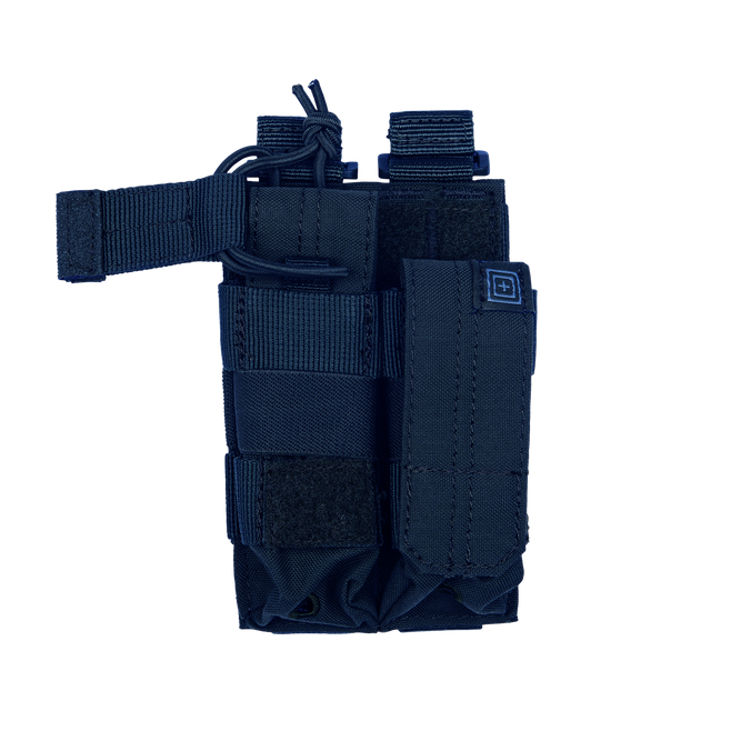 Pouch DOUBLE PISTOL BUNGEE/COVER – Dark Navy