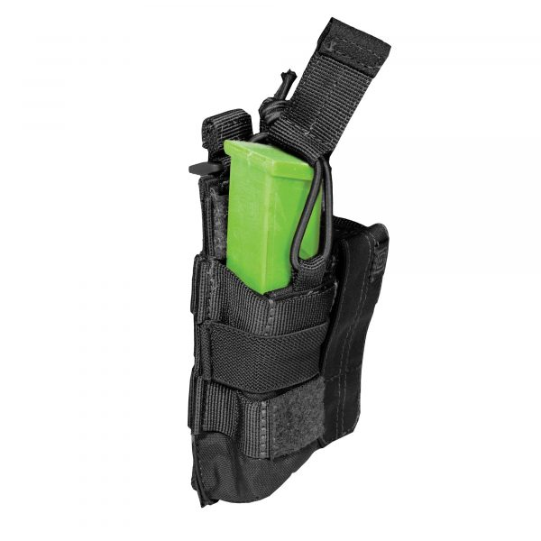 Pouch DOUBLE PISTOL BUNGEE/COVER – Black