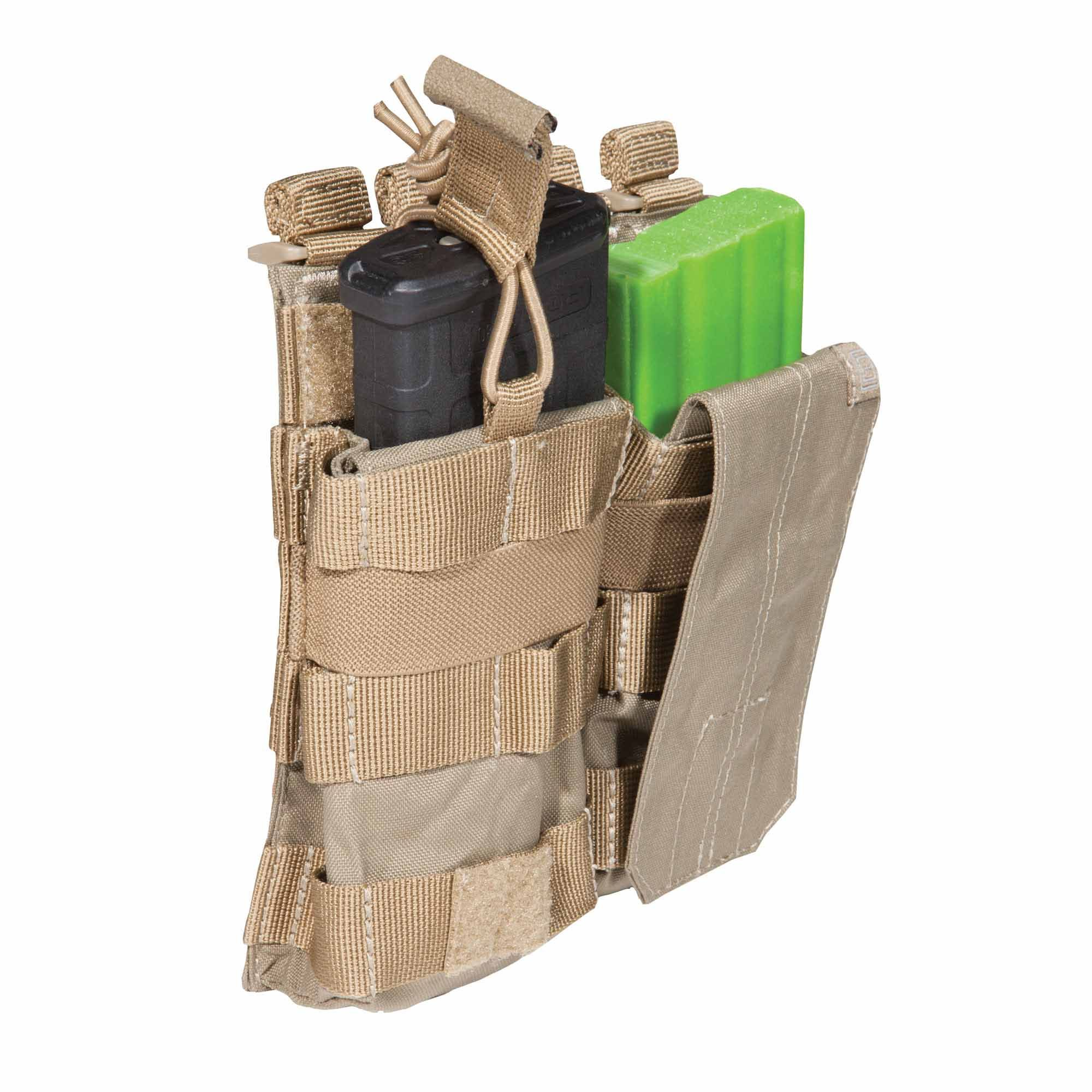 Pouch DOUBLE AR BUNGEE/COVER – Sandstone