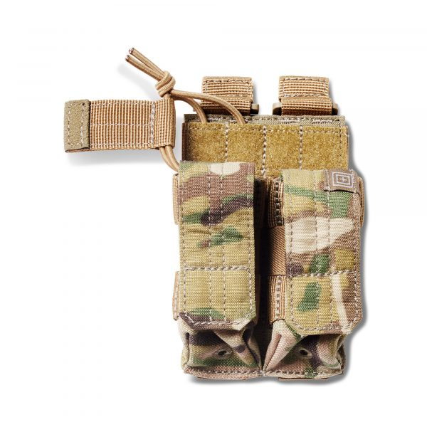 Pouch DOUBLE PISTOL BUNGEE/COVER – Multicam