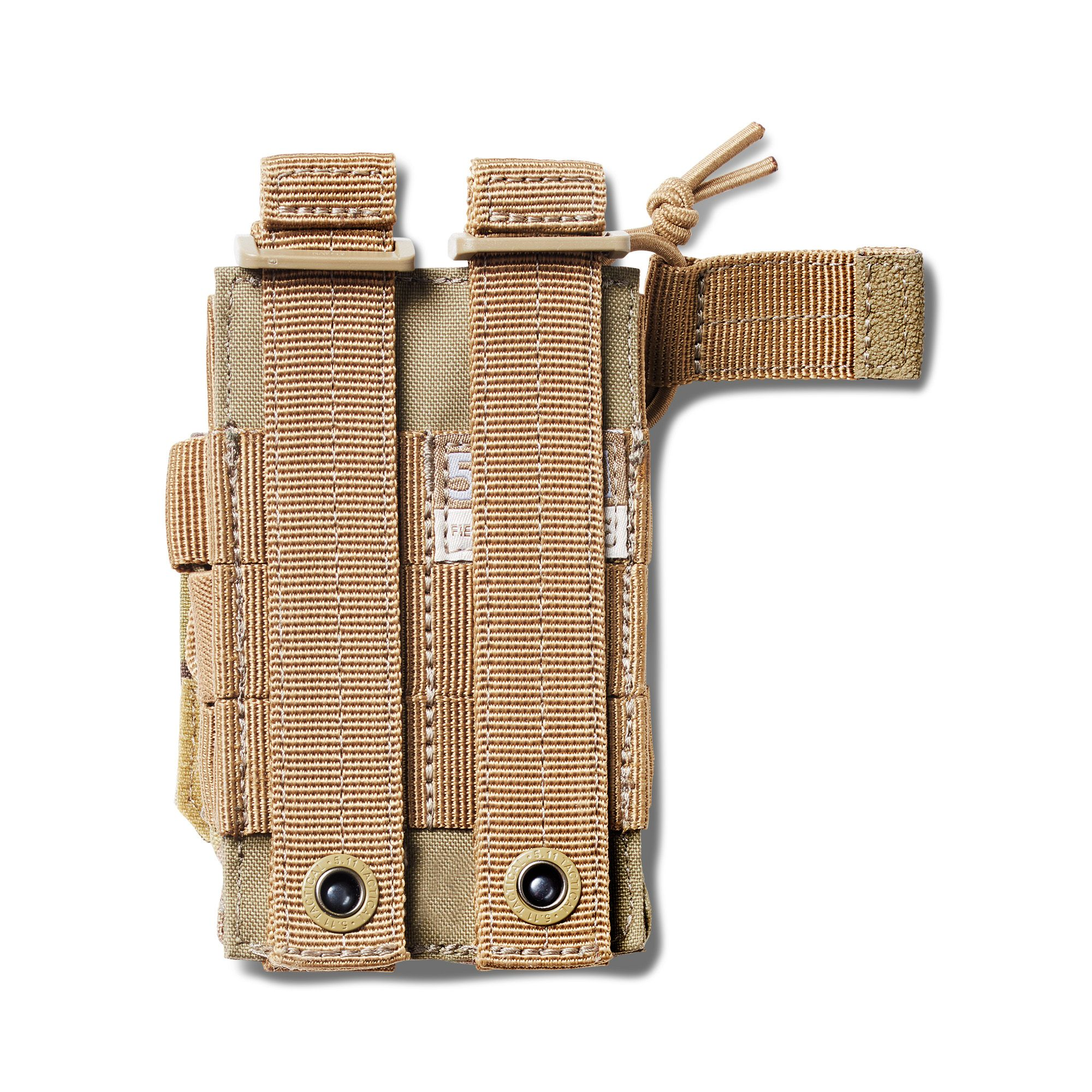 Pouch DOUBLE PISTOL BUNGEE/COVER – Sandstone