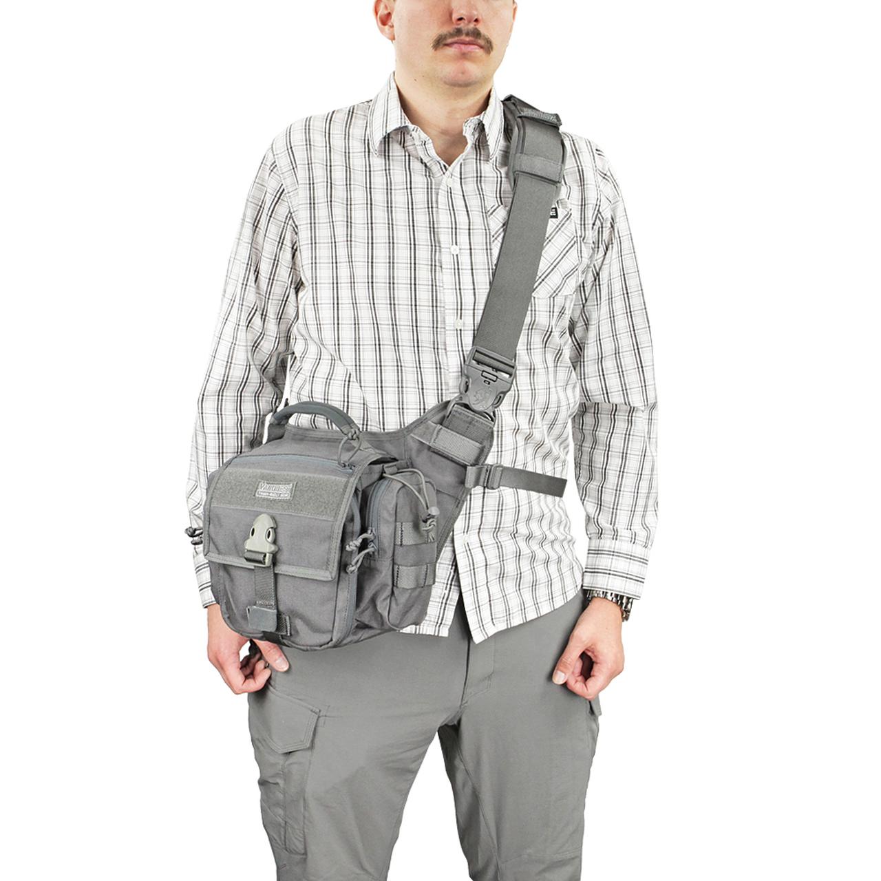 Túi VANQUEST TOLCAT 2.0 VPacker Gear Bag – Black
