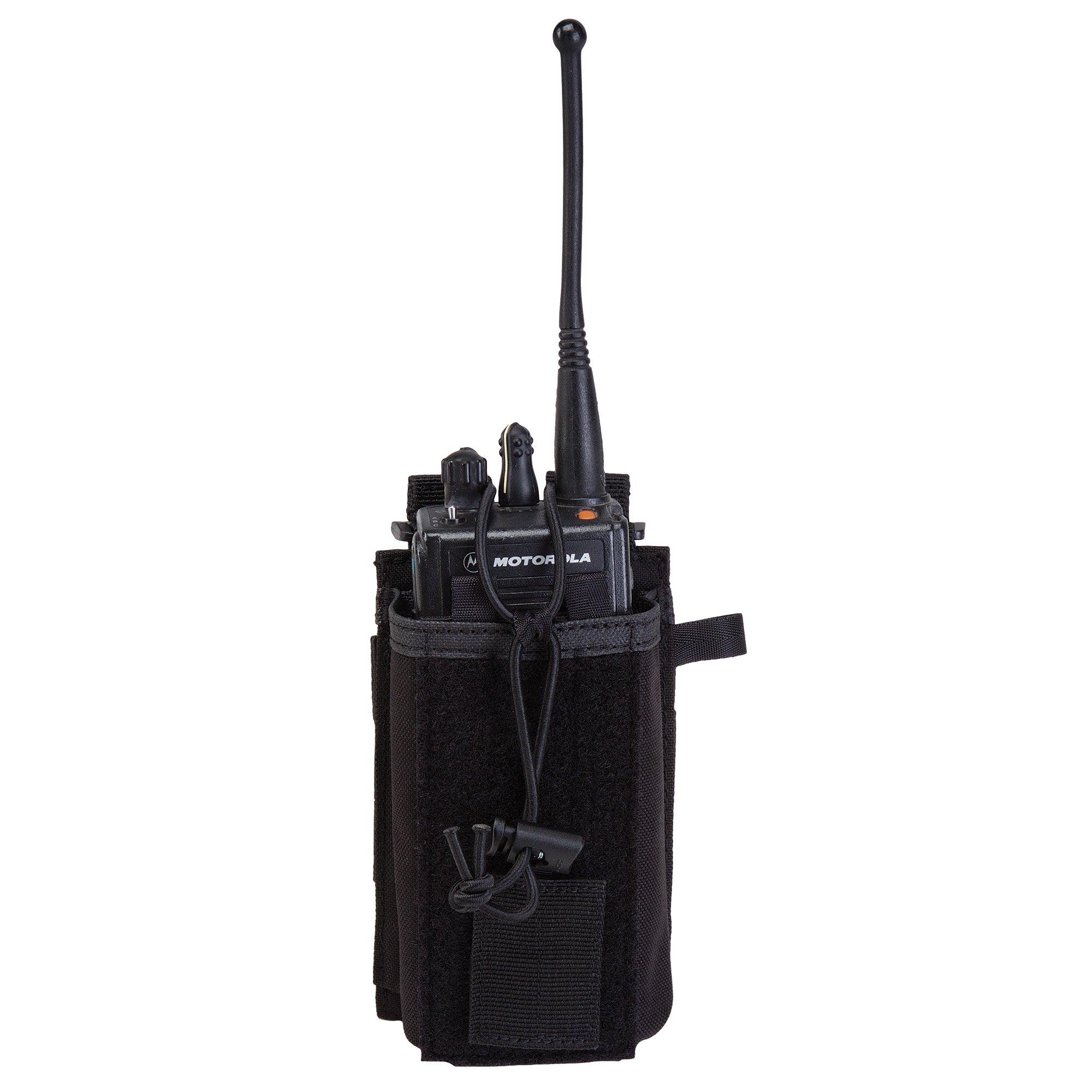 Radio Pouch – Black