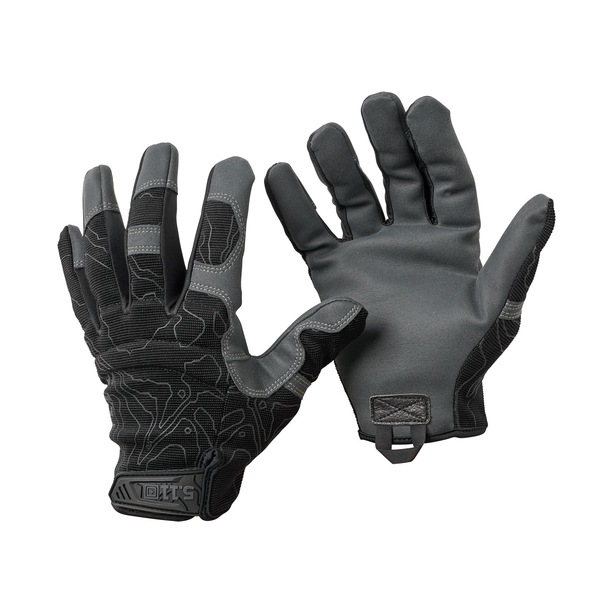 Găng Tay HIGH ABRASION TACTICAL – Black