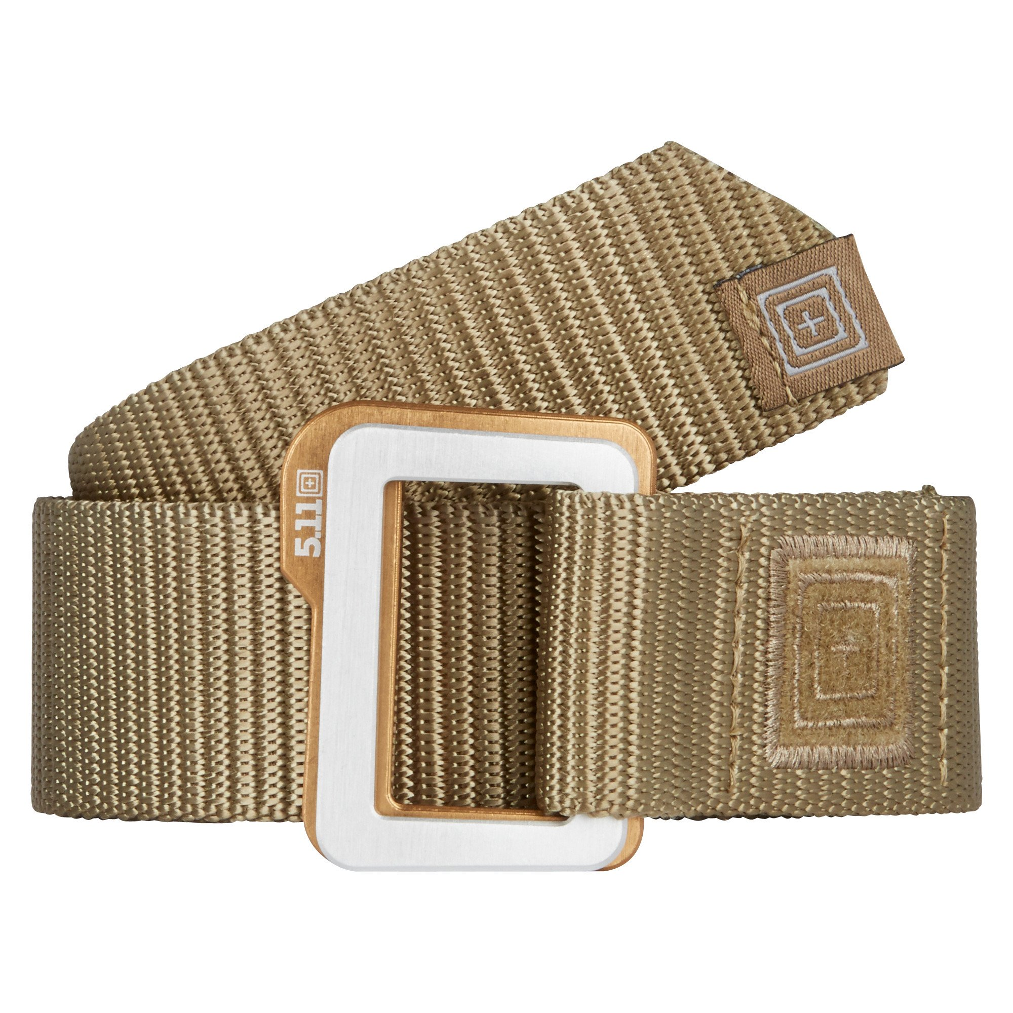 TRAVERSE DOUBLE BUCKLE BELT – Sandstone