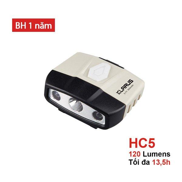 Đèn Pin Đội Đầu Klarus HC5