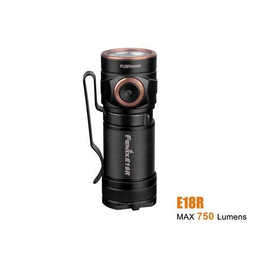 Đèn Pin FENIX – E18R – 750 LUMENS