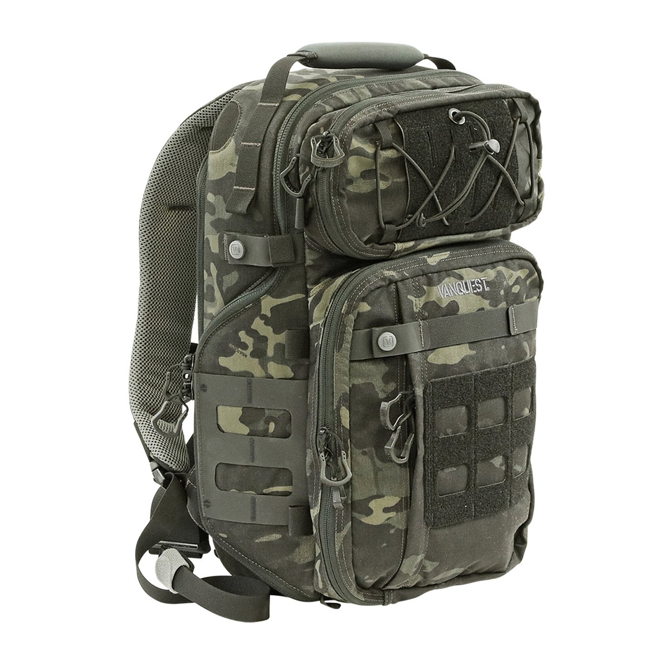 Balo VANQUEST TRIDENT-21 (Gen-3) Backpack (MultiCam-Black)
