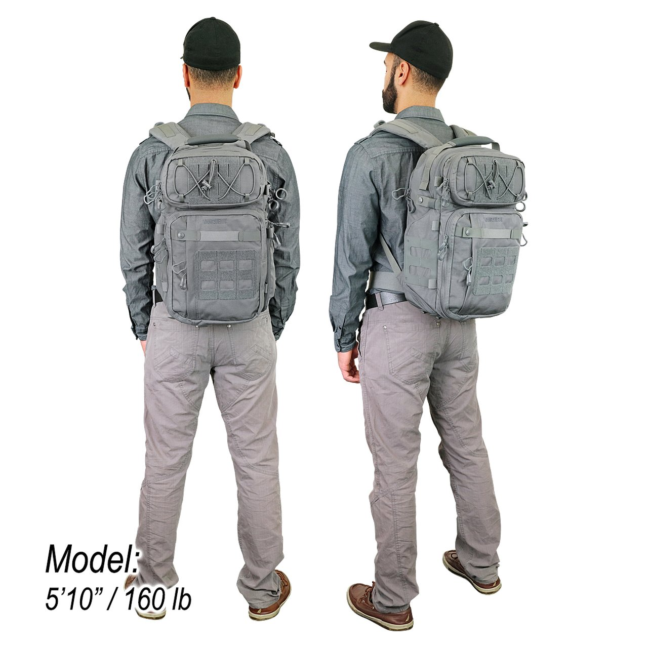 Balo VANQUEST TRIDENT-21 (Gen-3) Backpack – WolfGrey