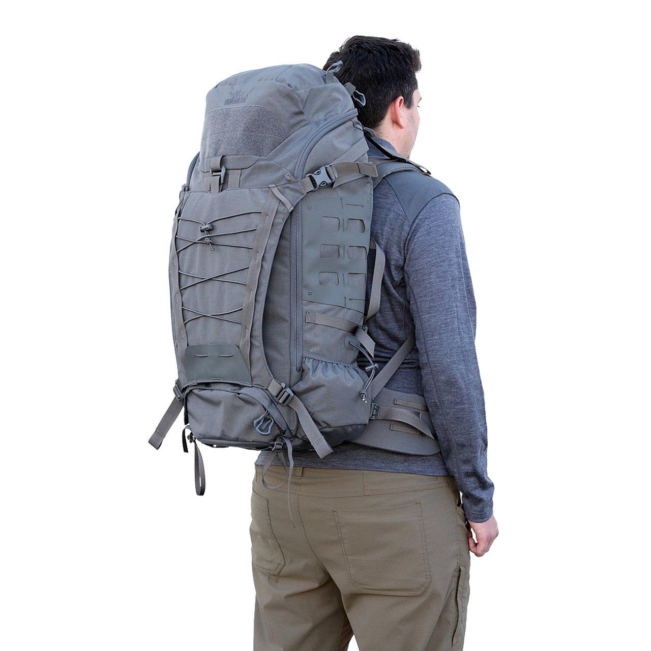 Balo VANQUEST MARKHOR-45 Backpack – WolfGrey
