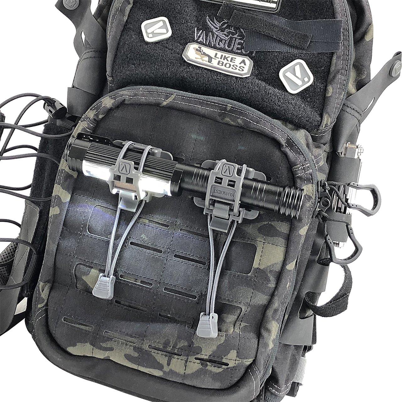 ELASTO Gear Locks (2-Pack) – Black