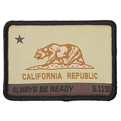CA Bear Patch – Coyote