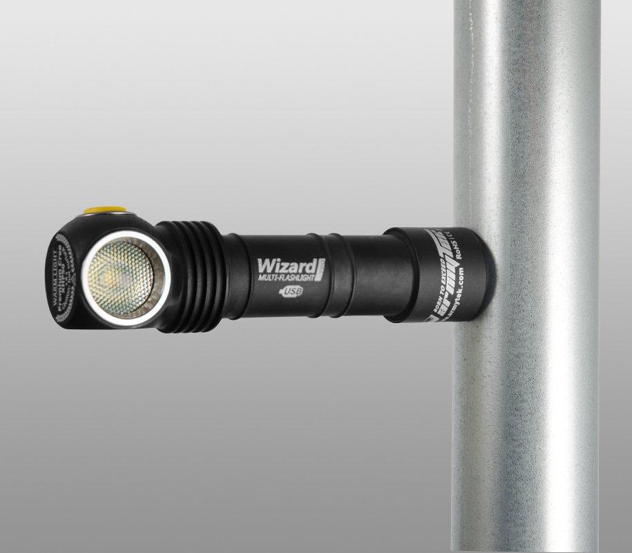 Đèn Pin ARMYTEK WIZARD MAGNET USB (WARM LIGHT – 1120 LM )