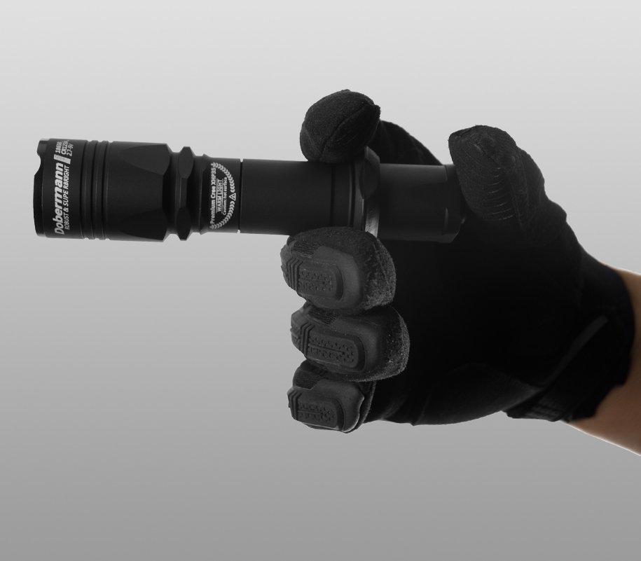 Đèn Pin ARMYTEK DOBERMANN PRO XHP35 HI (WARM LIGHT – 1570LM)